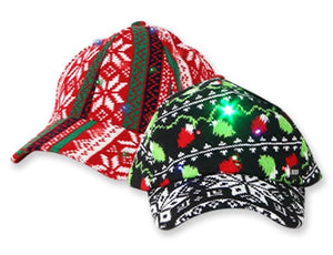 Light Up Ugly Sweater Knit Cap