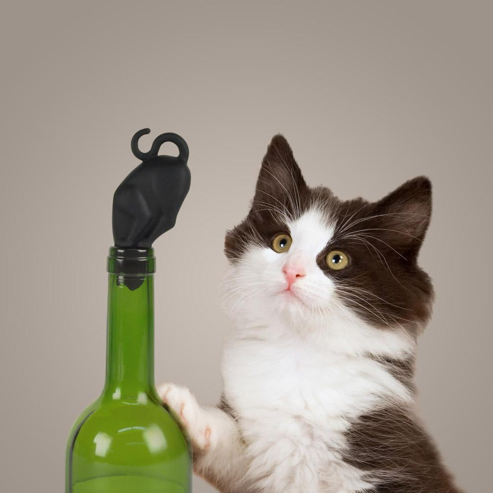 Fred Kitty Wine Stopper