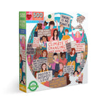 Eeboo Climate Change Puzzle 500pc