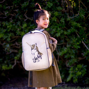 So Young Unicorn Grade School Backpack