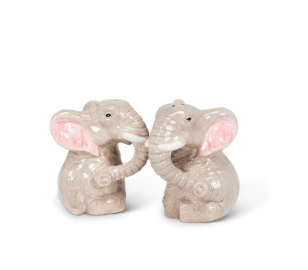 Salt & Pepper Shaker Elephant