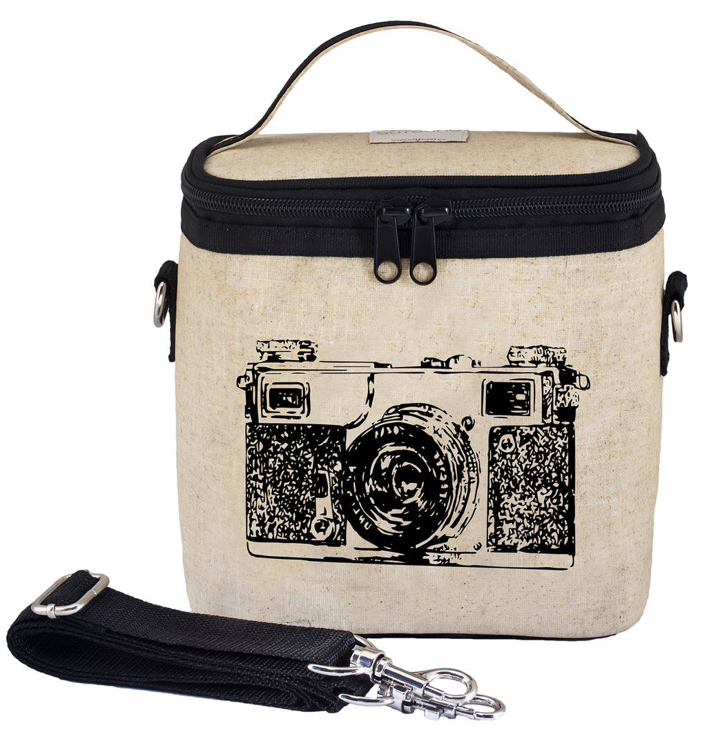 So Young Black Camera Large Cooler Bag