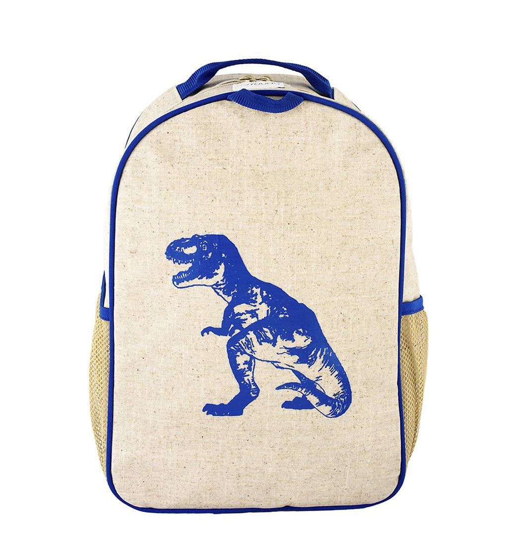 So Young Blue Dinosaur Toddler Backpack