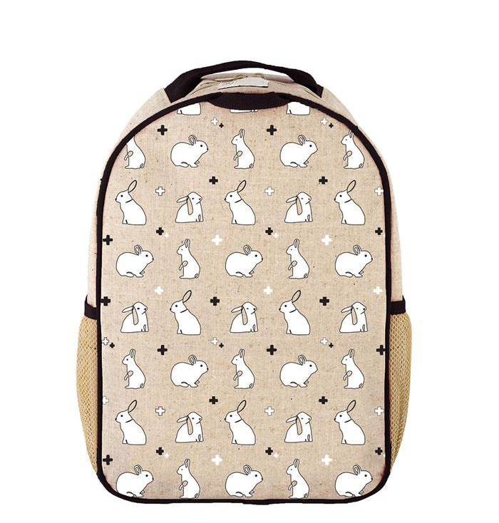 So Young Bunny Tile Toddler Backpack