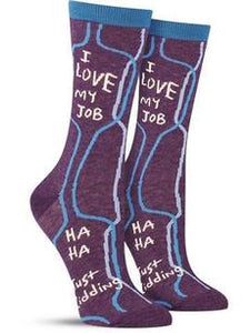 I Love My Job Socks