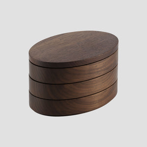 Stack box - walnut