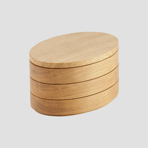 Stack box - oak