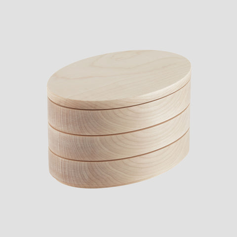 Stack box - maple