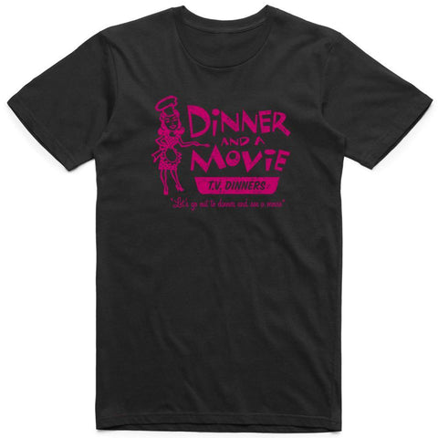 Dinner and a Movie Retro Tee