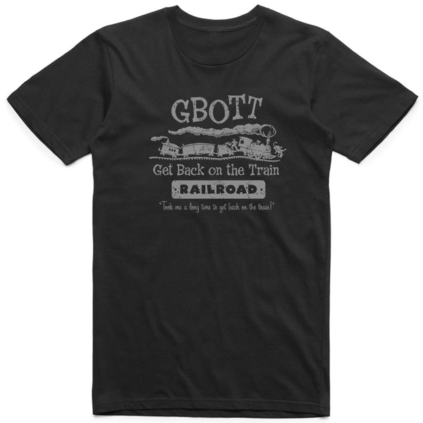 Get Back on the Train Retro Tee