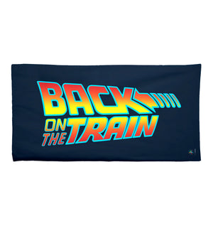 Get Back on the Train Towel