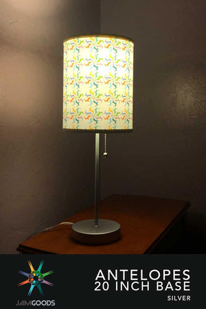 Antelopes Lamp & Shade