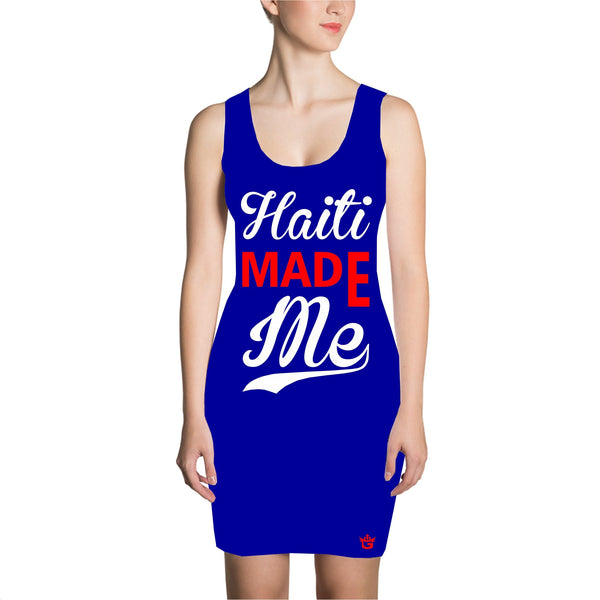 Blue Haiti Made Me Dress