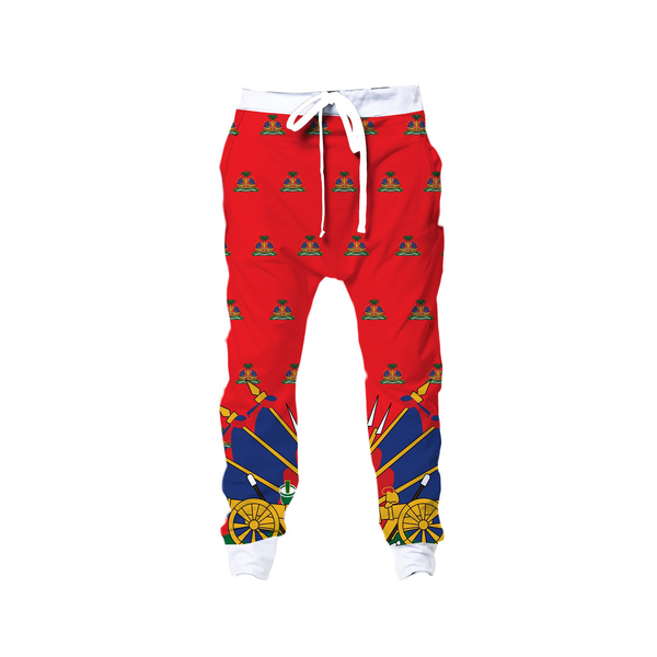 RED TMMG HAITI SWEATPANTS