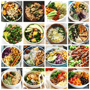 Build your own Buddha Bowl (GF)