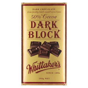 Whittaker's Dark Block 250g