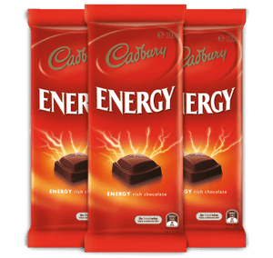 "Cadbury Energy ""Dark Chocolate"" 200g"