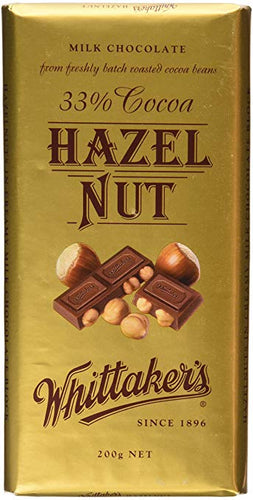 Whittaker's Hazelnut Block 250g