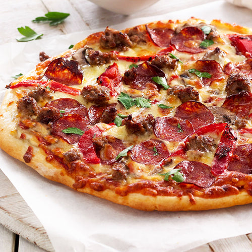 Gourmet Meat Lovers Pizza