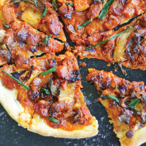 Gourmet Pork Belly Pizza