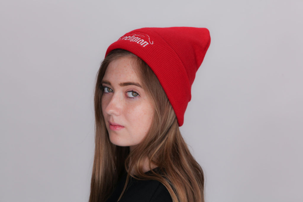Knit Fishing Beanie Hat 12