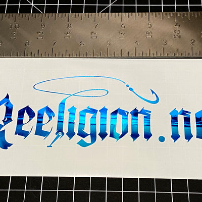 Die Cut Stickers - Reeligion