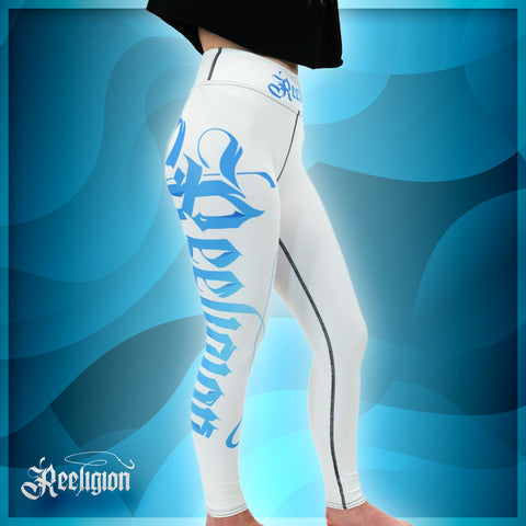 Blue Print Yoga Women Fishing Leggings - Reeligion