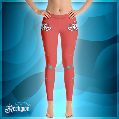"Fiesta ""Learn Your Knots"" Fishing Leggings - Reeligion"