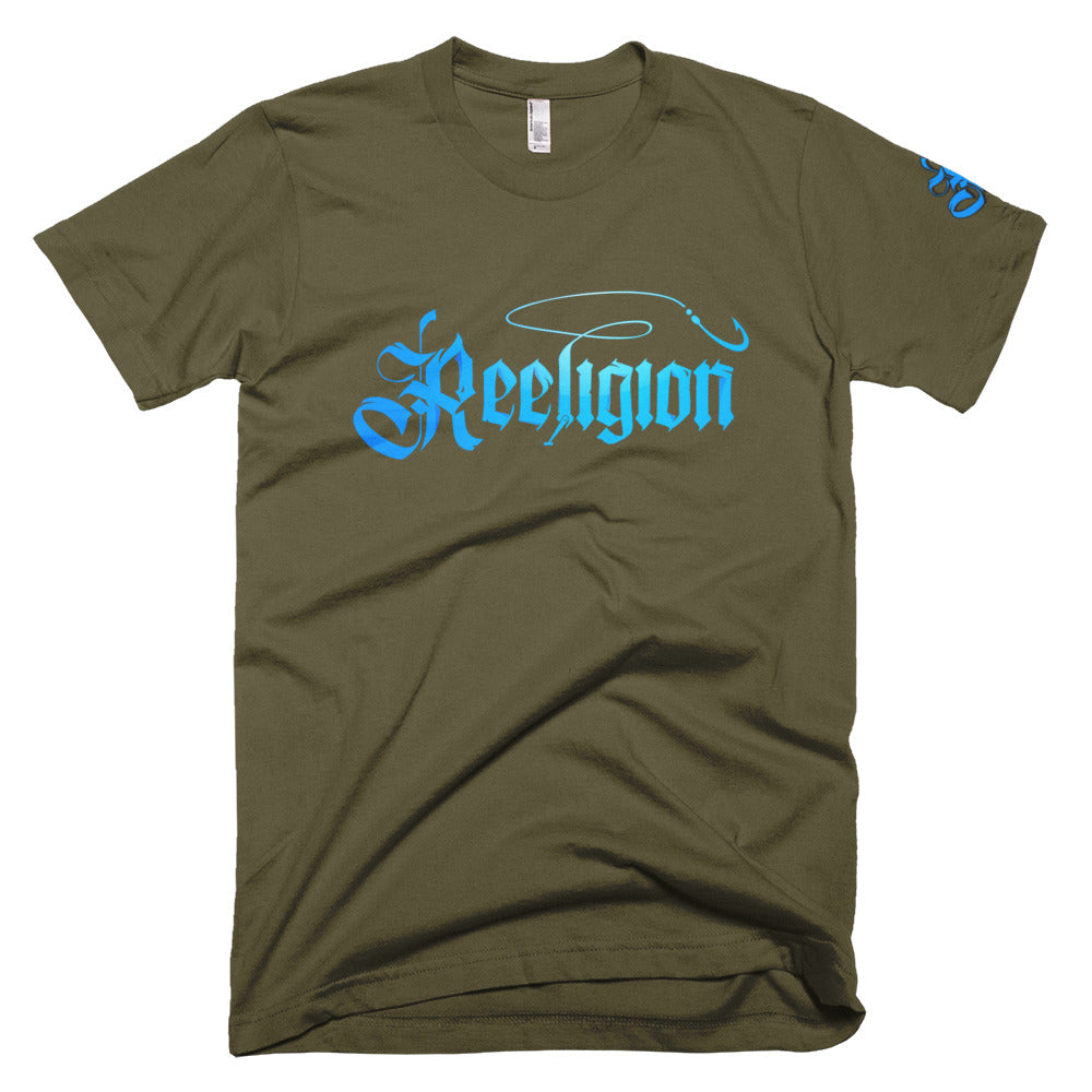 Blue Logo Limited Edition Colors Reeligion Tee