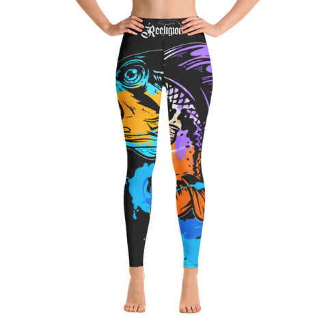 Bad Bass Hi Rise Womens Fishing Leggings - Reeligion