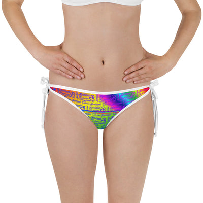 Lollipop Reversible Fish Bikini Bottom - Reeligion