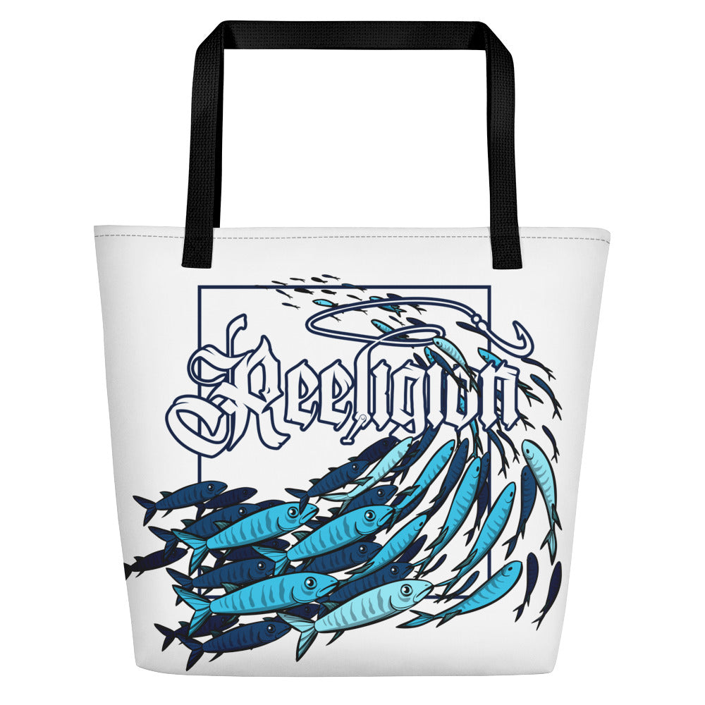 """Schools In"" Fishing Beach Bag"