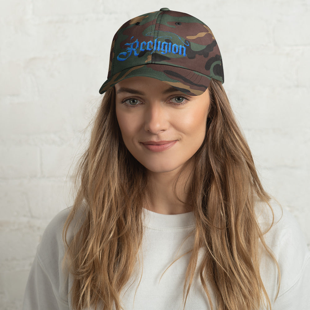 Embroidered Women's Fishing Hat