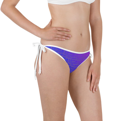 Royal Purple Fishing Bikini Bottom - Reeligion