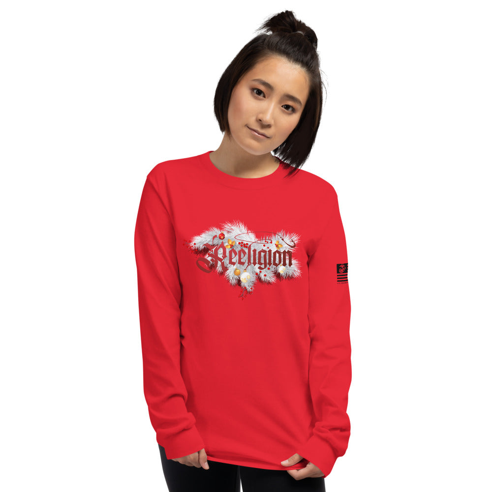 Reeligion Xmas Unisex Long Sleeve Shirt Red