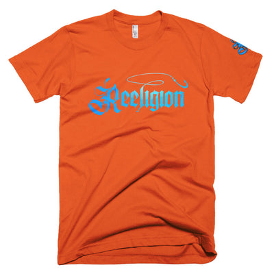 Blue Logo Limited Edition Colors Reeligion Tee - Reeligion
