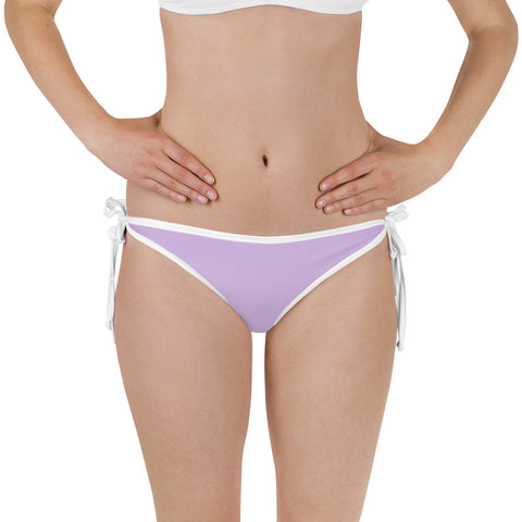 Sweet Lilac Reversible Fishing Bikini Bottom