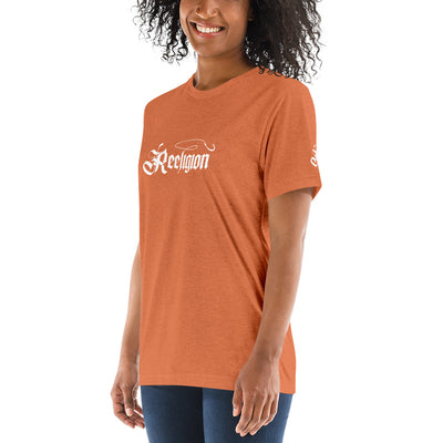 Unisex Triblend Short Sleeve Fishing T-Shirt - Reeligion