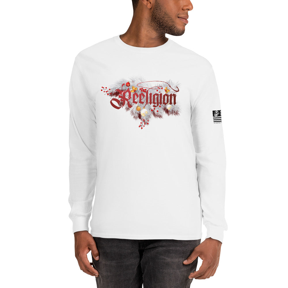 Reeligion Xmas Unisex Long Sleeve Shirt White