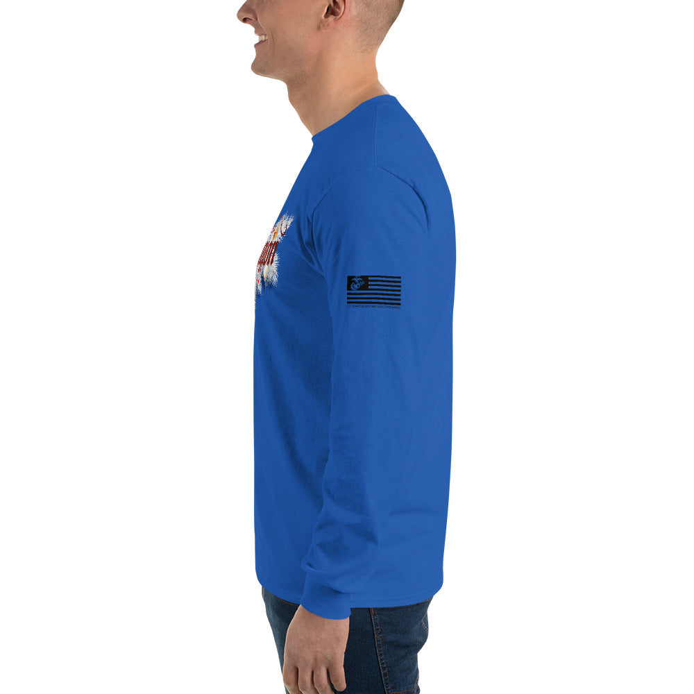 Reeligion Xmas Unisex Long Sleeve Shirt Blue