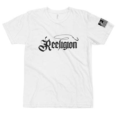 Black Logo Fishing T-Shirt - Reeligion