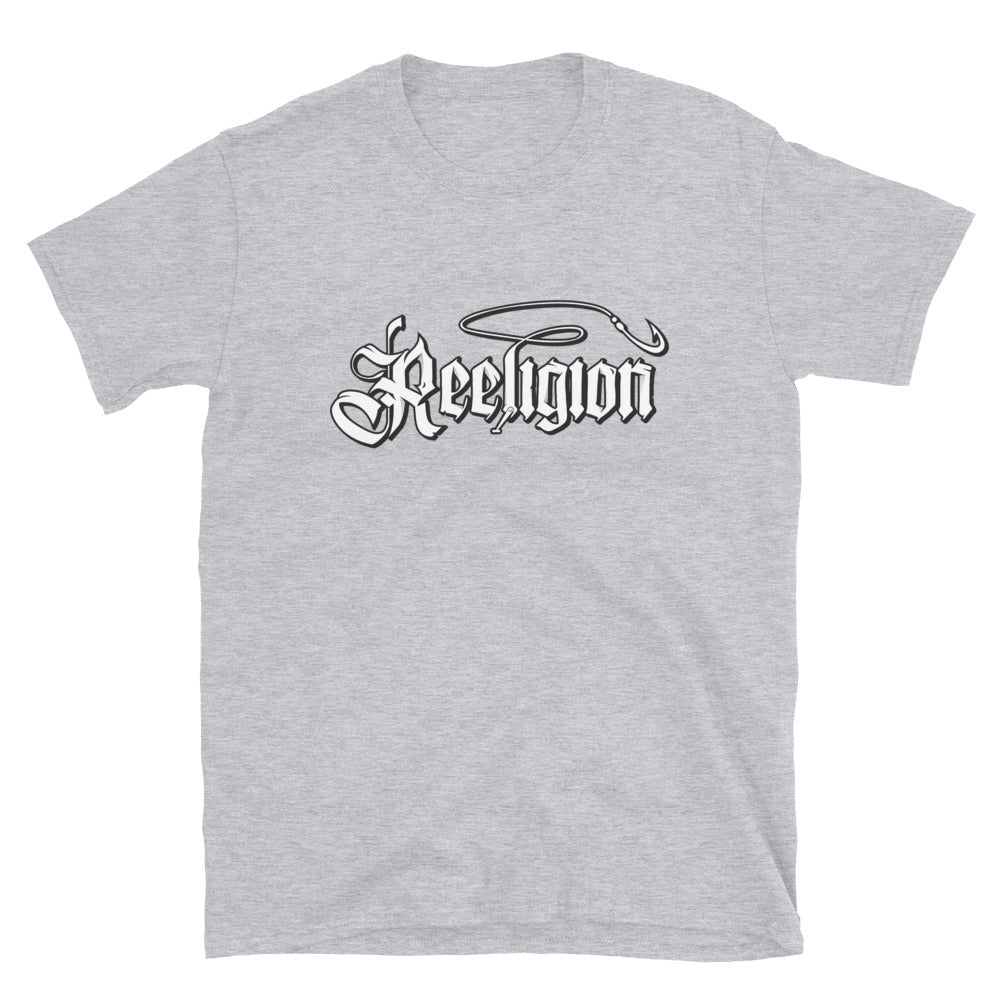 Reeligion White Logo Plain Tee