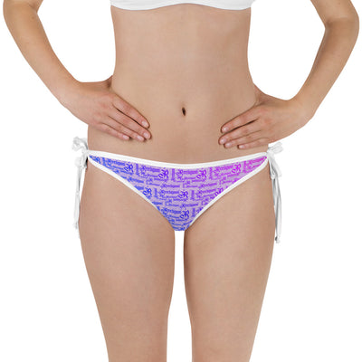 Sweet Lilac Reversible Fishing Bikini Bottom - Reeligion