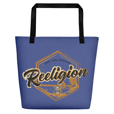 Vintage Fishing Beach Bag - Reeligion