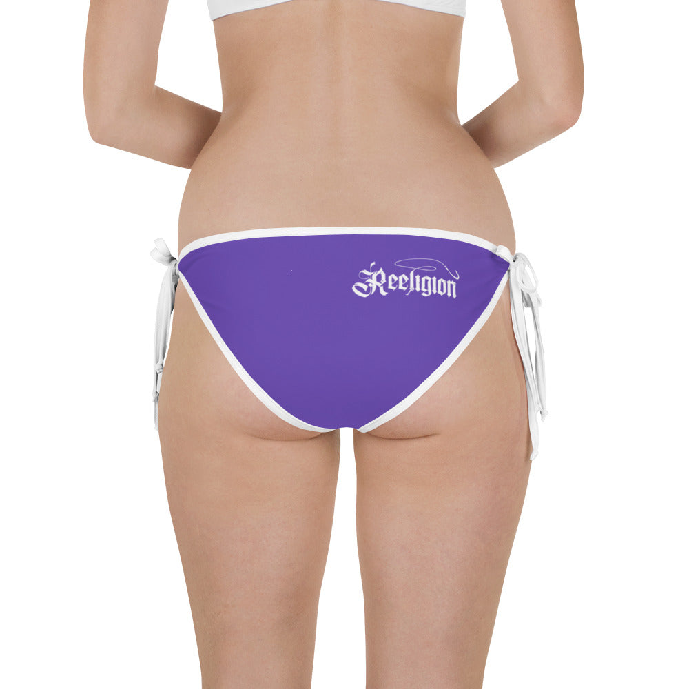 Royal Purple Fishing Bikini Bottom