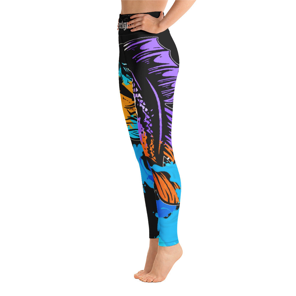 Bad Bass Hi Rise Womens Fishing Leggings