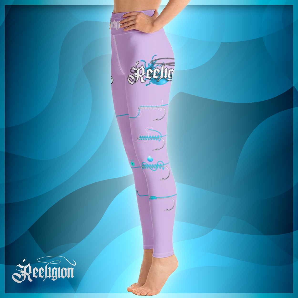 "Sweet Lilac ""Learn Your Knots"" Hi-Rise Leggings"