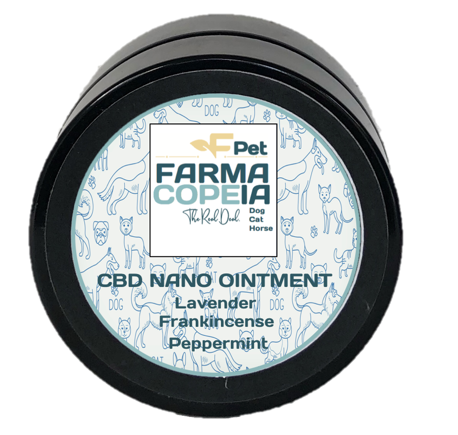 Nano Ointment with Lavender, Frankincense, and Peppermint