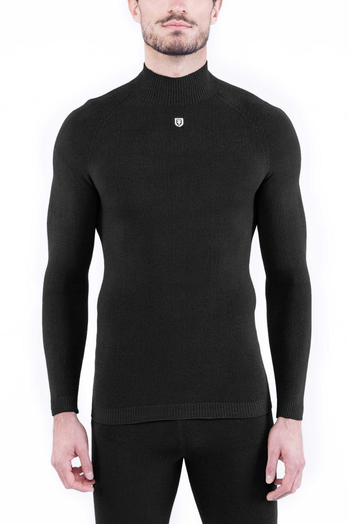EXTRA THERMAL MOCK SWEATER FR