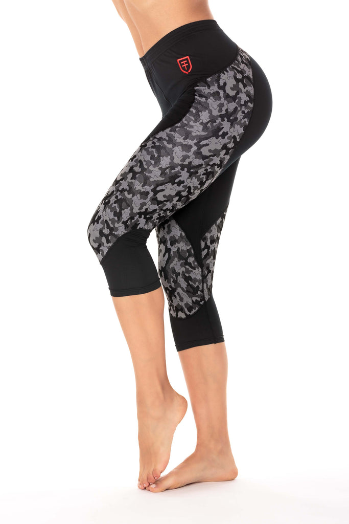 Camo Fitness leggings 3/4 woman
